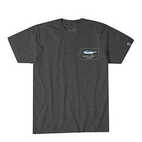 Blue Rogers Short Sleeve T-Shirt - Charcoal Heather