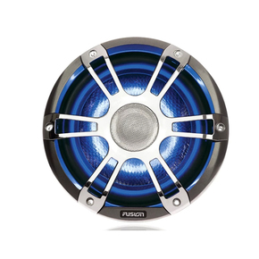 "SG-CL65SPC 2-Way Coaxial True Marine Waterproof LED Speakers 6.5""/230W Chrome"