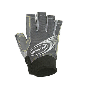 Half Finger Sailing Race Gloves - Grey