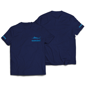 Marlin Short Sleeve T-Shirt - Navy