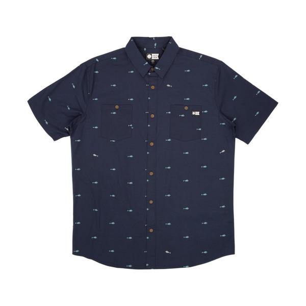 Provisions Short Sleeve Woven Shirt - Navy