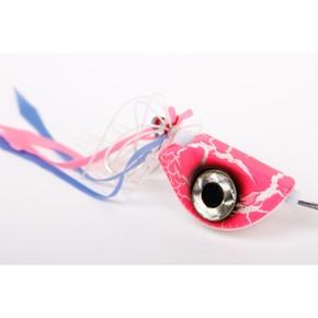 Beadye Eye Kabura Jig - Pink Crackle
