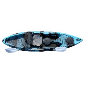 Yellowfin 10 Kayak 3.05m w/Framed Deluxe Seat & Paddle - Caribbean Blue