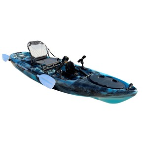 Yellowfin Angler Pedal Fish 12 Kayak Package - Caribbean Blue
