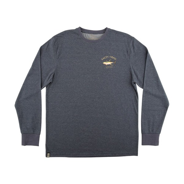 Ahi Mount Long Sleeve Tech shirt - Navy