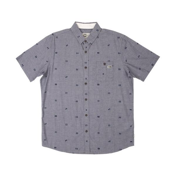 Signals Short Sleeve Woven Shirt - Navy