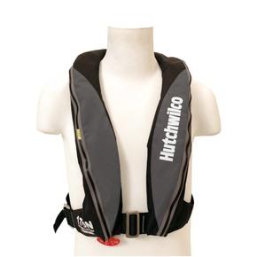 Super Comfort Inflatable Lifejacket Adult Manual 170N Grey / Black