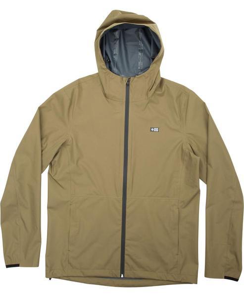 Migration Hooded Waterproof Jacket - Military