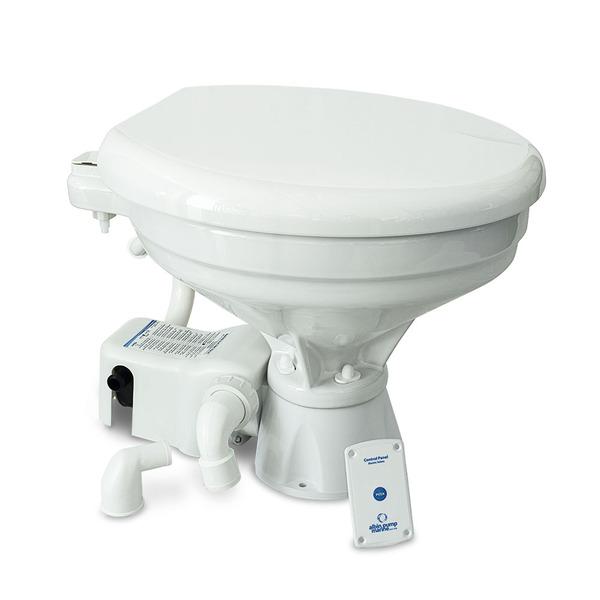 Premium 12v EVO Comfort Electric Deluxe Marine Toilet Regular Bowl