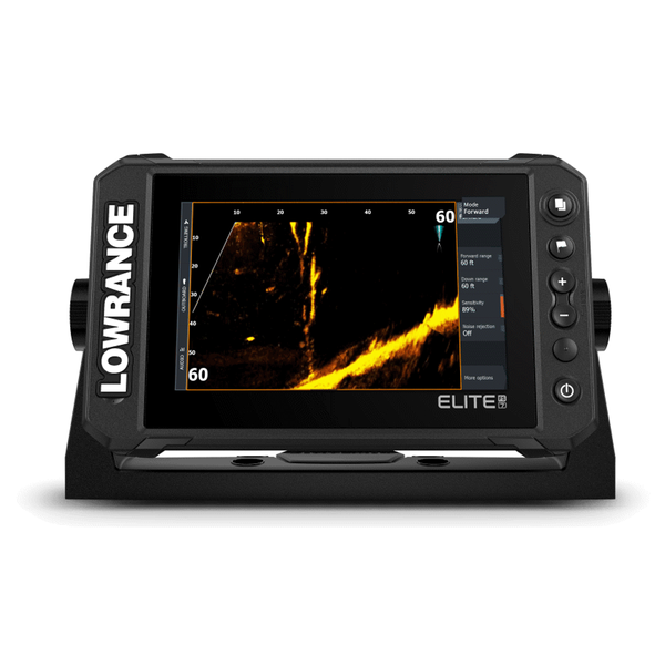 """Elite FS 7"""" with Active Image 3 in 1 Transducer & NZ Chart"""