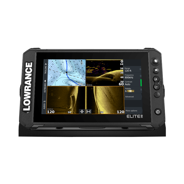 """Elite FS 9"""" with Active Image 3 in 1 Transducer & NZ Chart"""