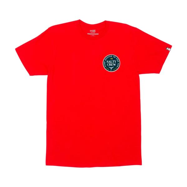 Fathom Standard Short Sleeve T-Shirt - Red