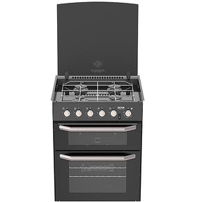 Caprice MK3 4-Burner Oven with Grill & Light - Carbon