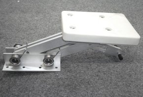 Alloy Rise and Fall Auxillary Outboard Bracket to 15hp