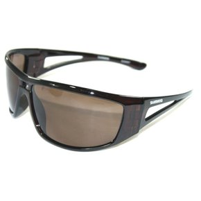 Antares Polarised Fishing / Boating Sunglasses - Dark Brown Lens