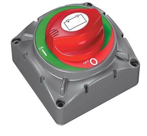 Large Heavy Duty Battery Selector Switch (2-Position Switch)
