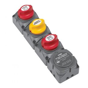 716-h Horizontal Battery Switch Cluster w/DVSR