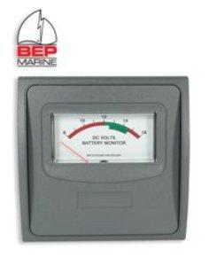 12v Analogue Voltmeter - 1 Bank