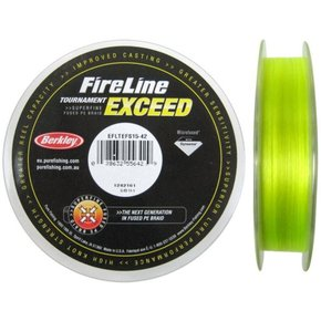 Fireline Exceed Line Braid - Flame Green - 5kg - 300m