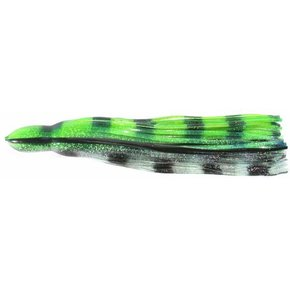 """Replacement Lure Skirt - 14"""" - Green Hologram"""