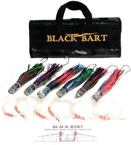 "Rigged Striped Marlin Game Fishing Lure Pack 30-50lb (9"")"