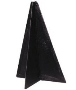 Black Cone (Pyramid) Navigation Day Shape