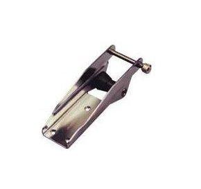 SS Bow Roller 225mm x 57mm x 75mmH