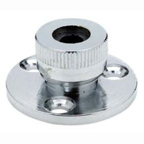 Cable Deck Seal Outlet Gland Chrome - 6mm