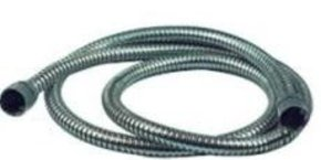 Chrome Spiral Shower Hose- 1.5mtr