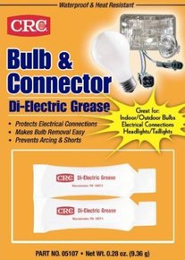 Bulb & Connector Di-Electrical Grease- 2 x 45g Tubes