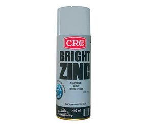 Bright Zinc Rust Protctorant Aerosol- 400ml