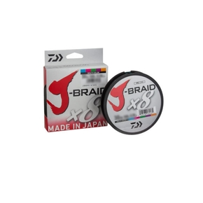 J Braid Line 15lb X 300m Multi-colour Braid