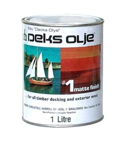 Olje #1 Matt Finish Teak Wood Oil/Sealer- 1 Litre