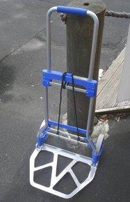 Deluxe Alloy Folding Dock Cart / Marina Trolley