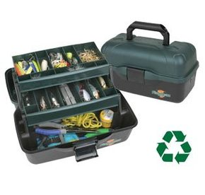 1627: Classic Series 2 Tray Fishing Tackle Box - 34 x 21 cm