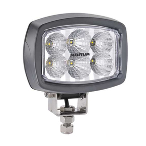 Marine 9-64v / 2000 Lumens LED Flood Lamp - Black