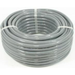 Reinforced Grey Pvc Fuel Hose UV Resistant 8mm (Above Floor Use) - per metre
