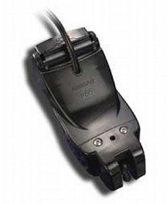 P66 600w Dual Freq Transom Mt Transducer w/Bracket