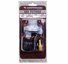 QCC Gas Bottle/Cylinder Regulator-Right Angled/8mm