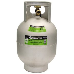 9kg Alloy Gas Cylinder (shop soiled)