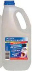 Distilled Battery Water-2 Litre (De-ionised)