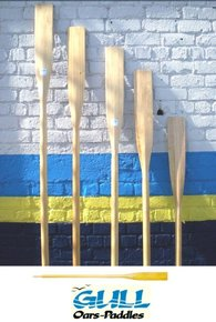 Premium Varnished Wooden Oar 2.4m (8ft) -Made in NZ
