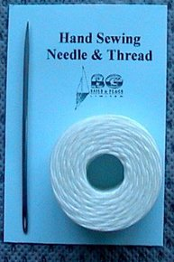 Sailmakers Waxed Twine with Needle