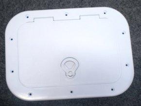 White ABS Marine Hatch- 400x328mm