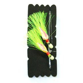 Recurve Flasher Rig - Chartreuse