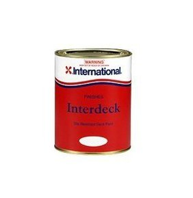 Interdeck Non Skid Paint - 1L White
