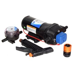 Premium Diaphragm Washdown Pump (Set) 24v - 19LPM - 70PSI