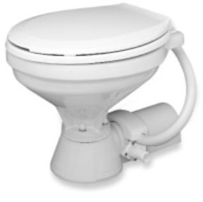 12v Electric Deluxe Marine/RV Toilet Standard Bowl