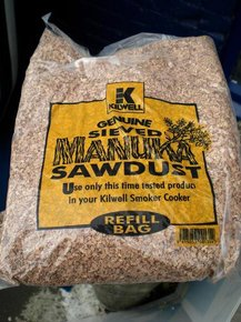 Genuine Sieved Manuka Smoker Sawdust- 1 lb Bag