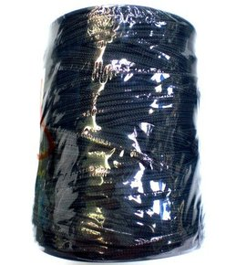 1 kg roll (100m) 3mm Black Longline Braid